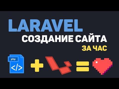 Изучение Laravel в одном видео / Создание сайта на PHP Laravel за час!