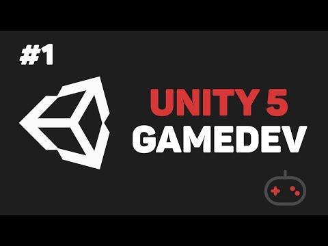 Разработка игры на Unity / Урок #1 – Введение в Unity GameDev