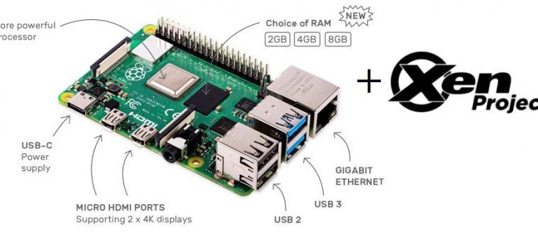 Гипервизор Xen портировали на Raspberry Pi 4