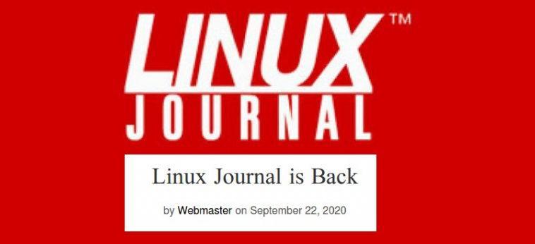 Linux Journal возвращается. Теперь под руководством Slashdot Media