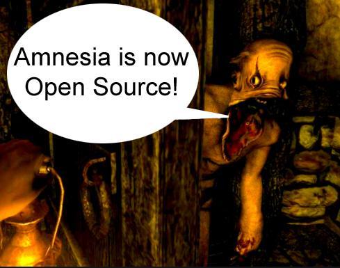 Разработчики Amnesia опубликовали исходный код игры