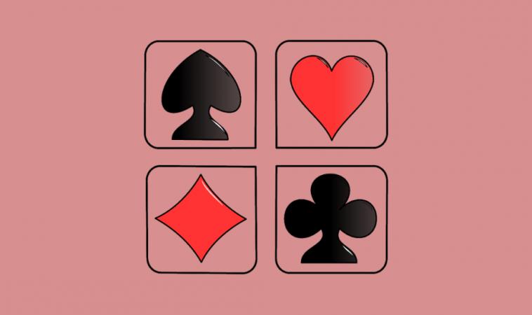 Три игральные карты