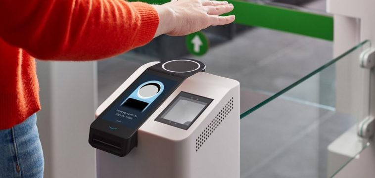 Устройство Amazon One позволит внедрить биометрическую аутентификацию по скану ладони