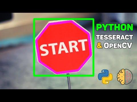 Распознавание текста с картинки. Python Tesseract ORC + OpenCV