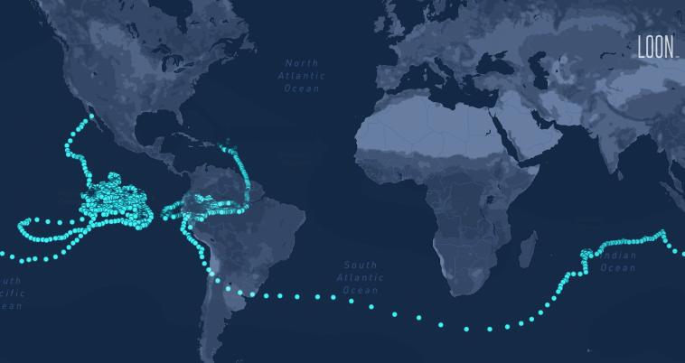 312 дней в воздухе: аэростат Loon поставил рекорд по длительности полёта в стратосфере