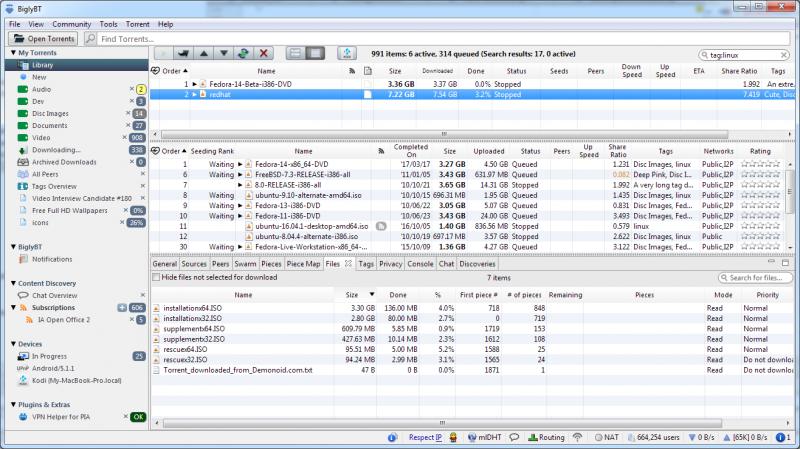 biglybt stal pervym torrent klientom s podderzhkoj specifikacii bittorrent v2 9096e5d - BiglyBT стал первым торрент-клиентом с поддержкой спецификации BitTorrent V2