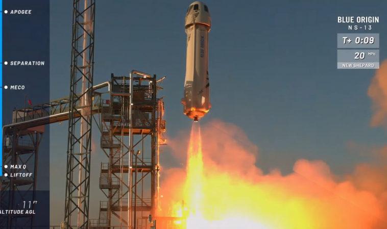 Blue Origin успешно запустила многоразовую ракету New Shepard и протестировала элементы лунной посадочной системы