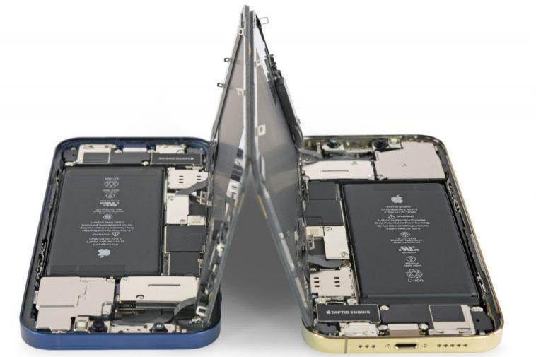 iPhone 12 и iPhone 12 Pro получили 6 баллов из 10 по шкале ремонтопригодности iFixit