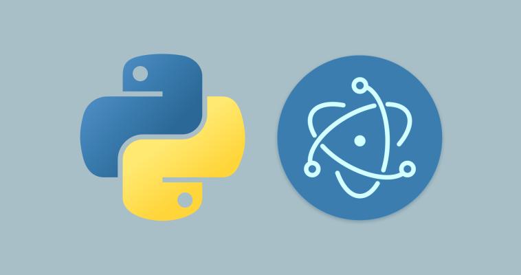 Соединяем Python и Electron/Node.js в приложении для десктопа