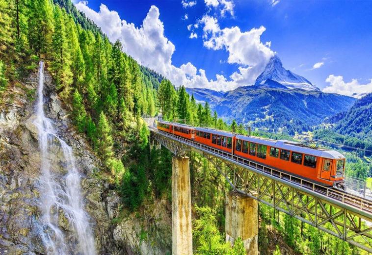 В Швейцарии добились стабильного интернета со скоростью более 1 Гбит/с в движущемся поезде