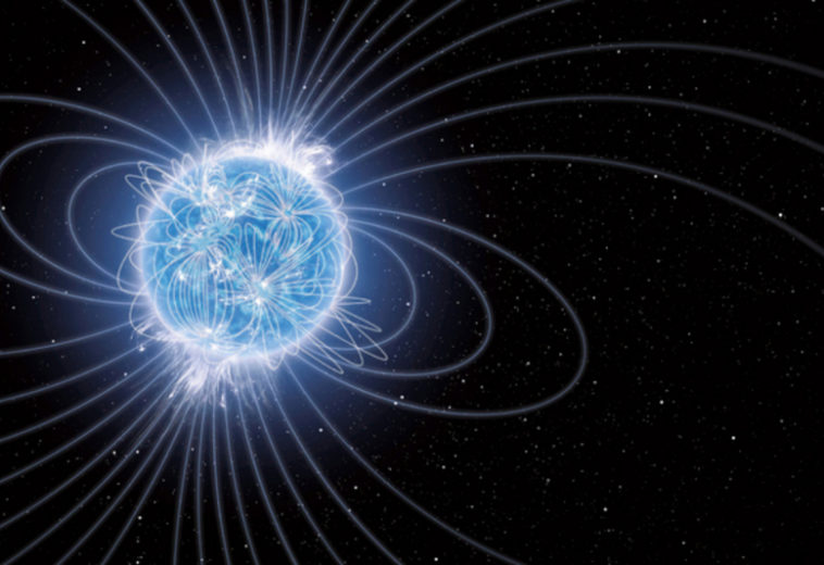 Астрономы зарегистрировали необычайно яркую вспышку килоновой — вероятно, это первое наблюдение формирования магнетара