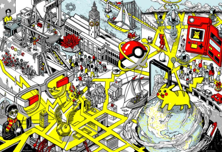 Niantic проектирует карту мира с дополненной реальностью