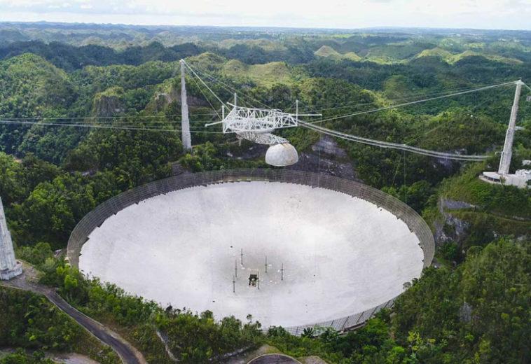 Повреждённый в августе телескоп Аресибо решили разобрать