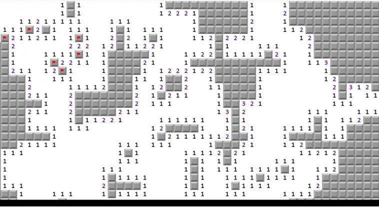 Программист написал классическую игру «Сапёр» на миллион клеток