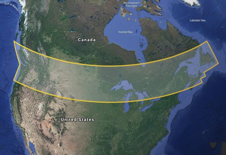 Система спутникового интернета Starlink одобрена для использования в Канаде