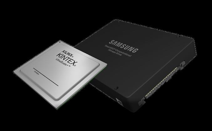 Xilinx и Samsung представили умный SSD с вычислительными способностями прямо на накопителе