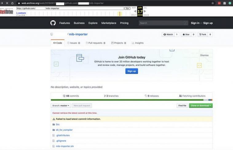 Данные авторизации взломанного «русскими хакерами»SolarWinds нашли на GitHub еще в 2019 году