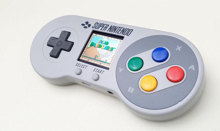 Эмулятор ретроконсоли встроили в контроллер SNES