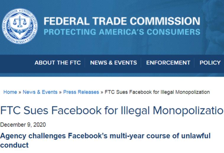 Facebook может продать Instagram и WhatsApp из-за антимонопольных требований властей США