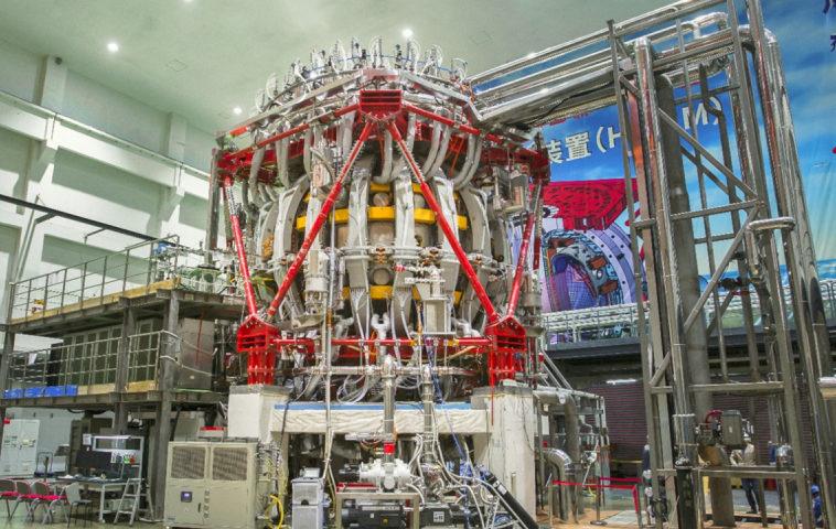 Китай построил новый термоядерный реактор