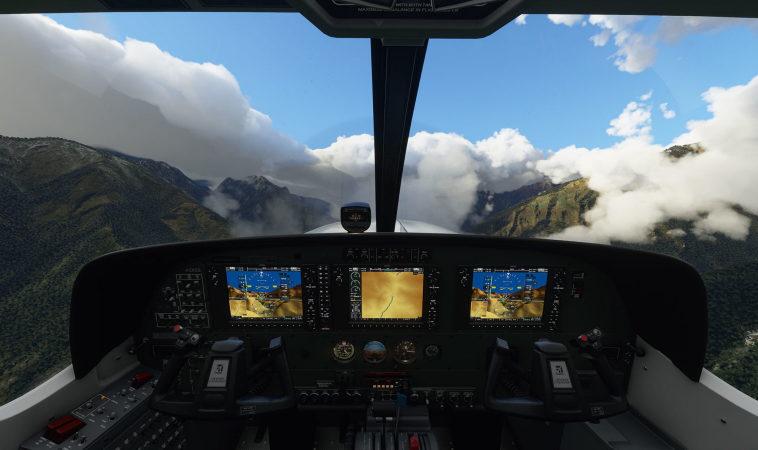 Режим виртуальной реальности Microsoft Flight Simulator тормозит даже на мощных компьютерах