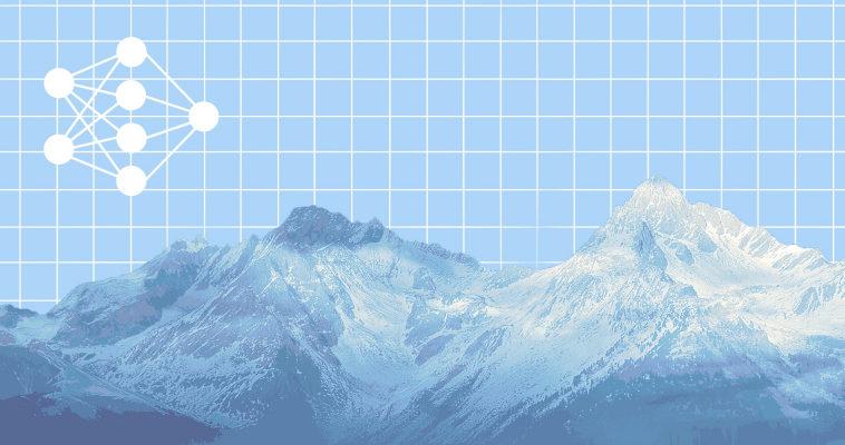 Анимация градиентного спуска и ландшафта функции потерь на Python