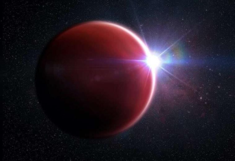 Астрономы нашли редчайшую гигантскую планету