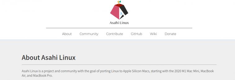 Краудфандинговый проект Linux для Maс на M1 продолжает развиваться, он получил название Asahi Linux