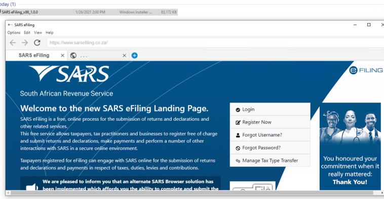 Налоговая служба ЮАР разработала собственный браузер, чтобы не отказываться от Flash Player