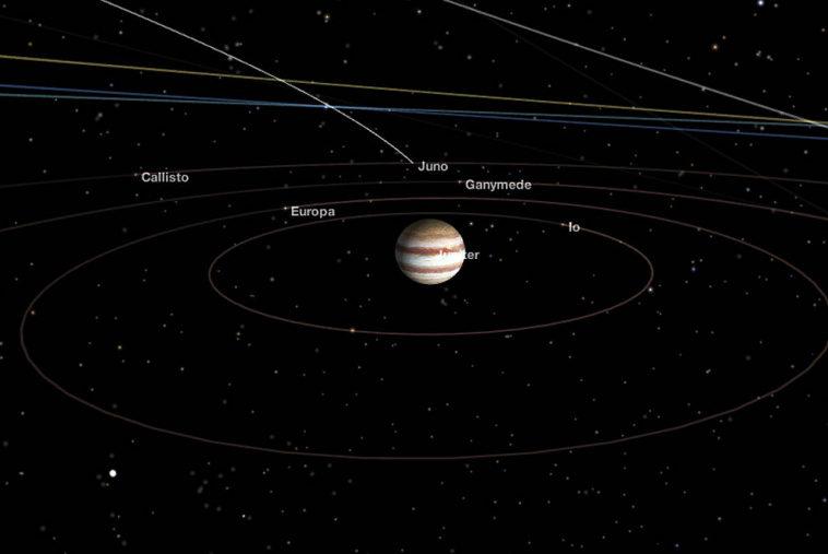 НАСА продлит время работы миссий «Юнона» и InSight