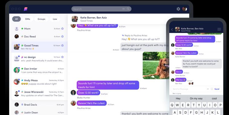 Новый мессенджер Beeper объединяет в себе 15 сервисов и обещает запустить iMessage на Android