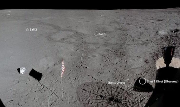Энтузиаст измерил по видео длину броска мячика для гольфа на Луне