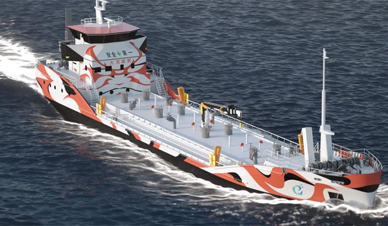 Япония построит первый в мире танкер на аккумуляторах