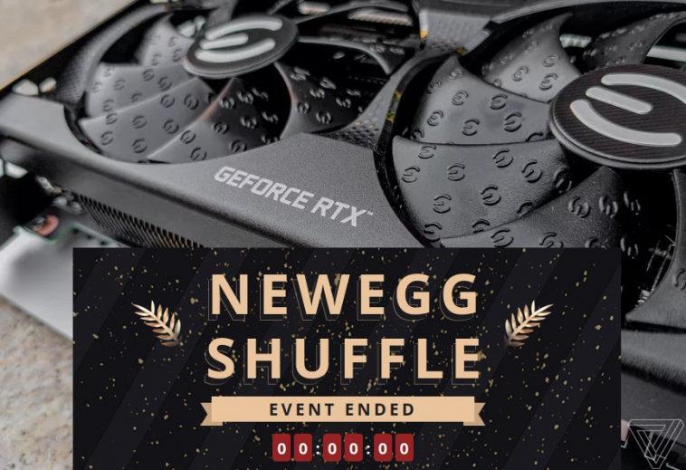 Магазин электроники Newegg борется с перекупщиками введением системы лотерей, где выигрыш — возможность купить дефицит