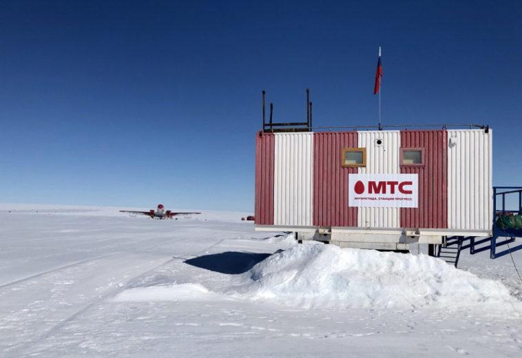 МТС развернула наантарктической станции «Прогресс» сеть интернета вещей