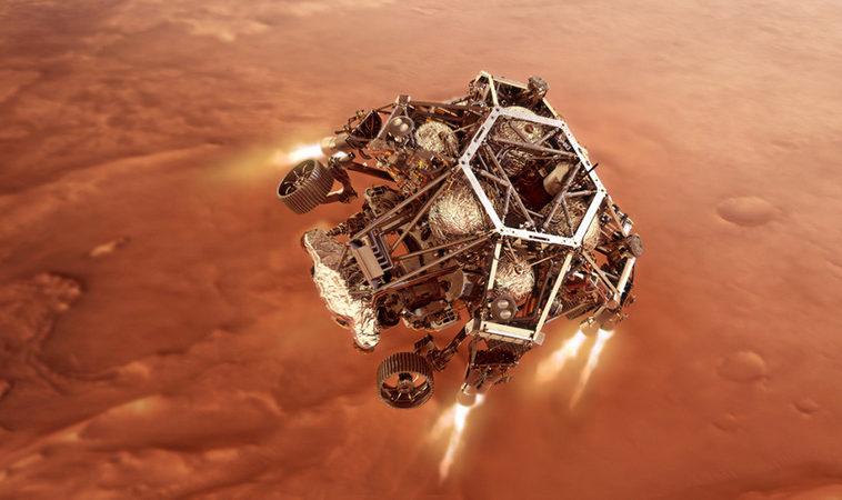 Посадка «Персеверанс» на поверхность Марса состоится в ночь на 19 февраля. Где смотреть