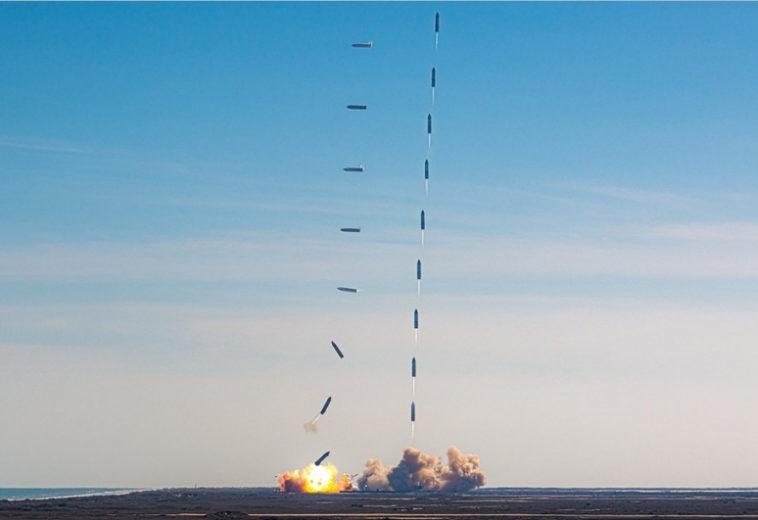 Прототип Starship SN9 взорвался при посадке в очередном тесте SpaceX