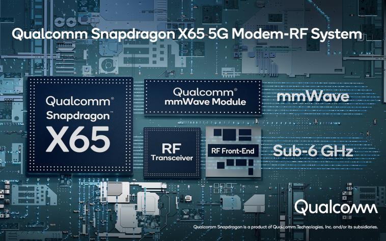 Qualcomm представила 5G-модем со скоростью до 10 Гбит/с