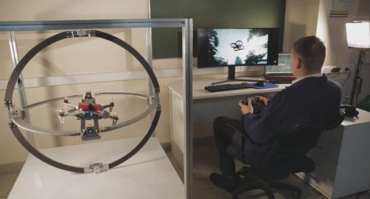 Самарские ученые разработали тренажер для обучения операторов мультикоптеров