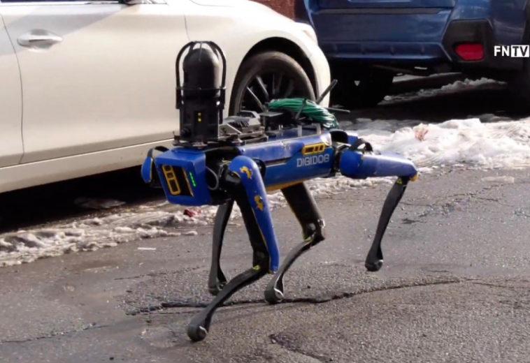 Американская полиция использовала робота Digidog производства Boston Dynamics в операции с заложниками