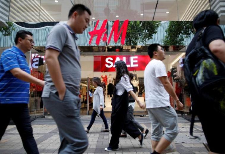 Бренд H&M убрали из китайских приложений из-за бойкота