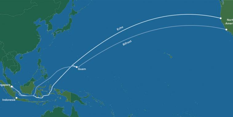 Facebook проложит два подводных кабеля от Северной Америки до Индонезии и Сингапура