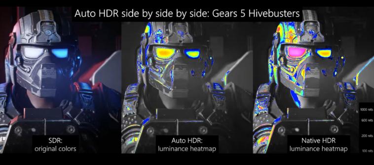 Microsoft представила Auto HDR на ПК для уже вышедших игр с обычной цветовой гаммой