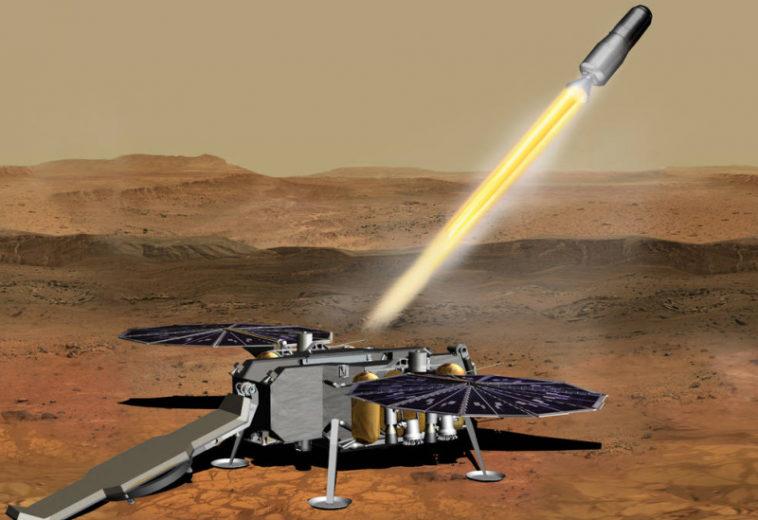 НАСА заключило с Northrop Grumman Systems контракт на доставку образцов грунта с Марса