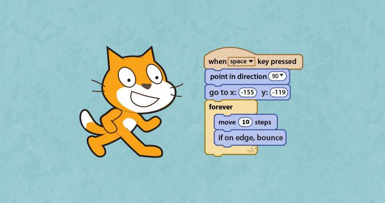 Обучение детей программированию с помощью Scratch