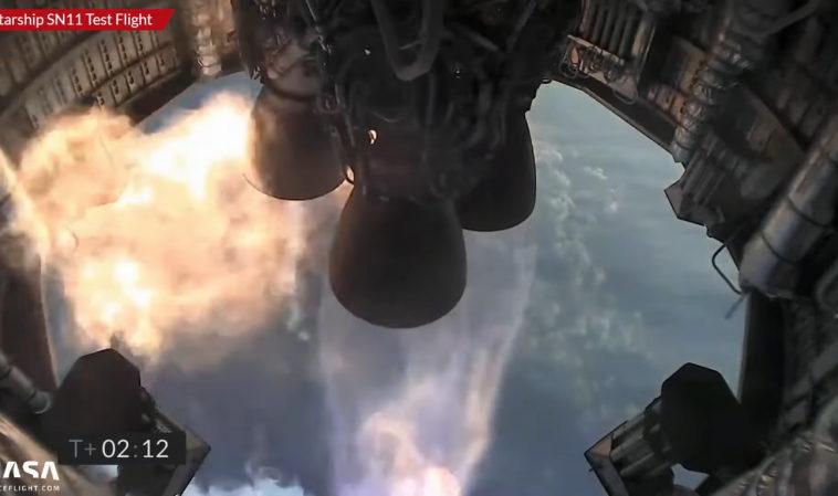 Прототип Starship SN11 разбился при посадке