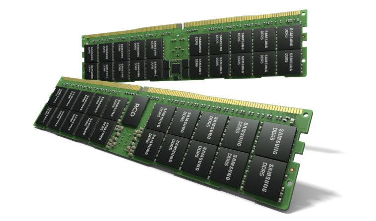 Samsung представила модуль памяти DDR5 на 512 ГБ