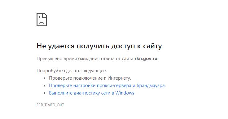 Упали сайты российских госорганов