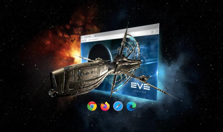 В EVE Online появилась версия Anywhere для игры в браузере