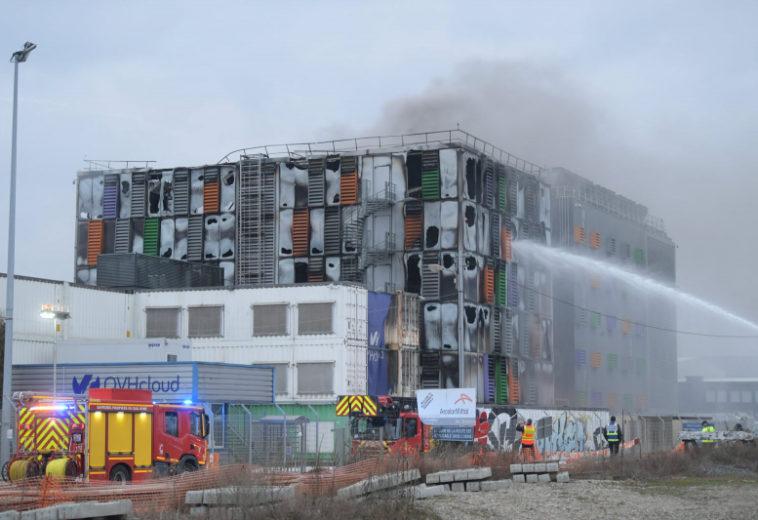 В Страсбурге сгорел дата-центр OVH SBG2